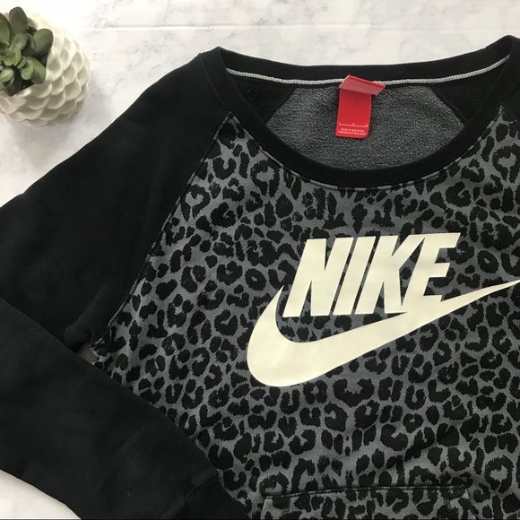 nike cheetah sweatshirt